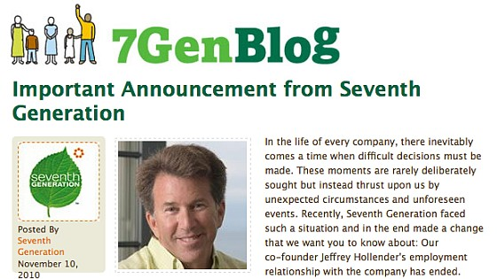 7th Gen Hollender Announcement Post