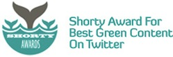 Shorty Award for Best Green Content on Twitter