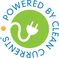 powered by clean currents logo