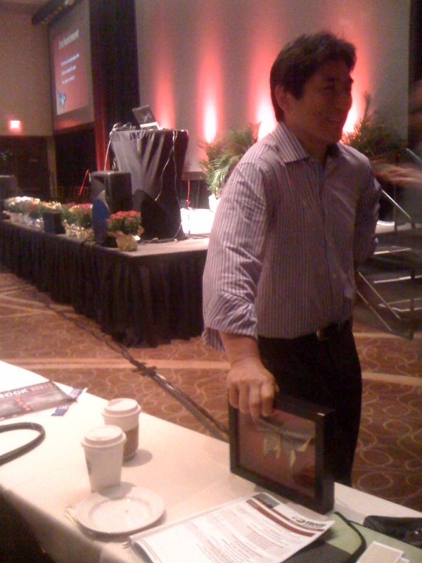 Inbound Marketing Summit:Guy Kawasaki with the Kawasaki Butterfly