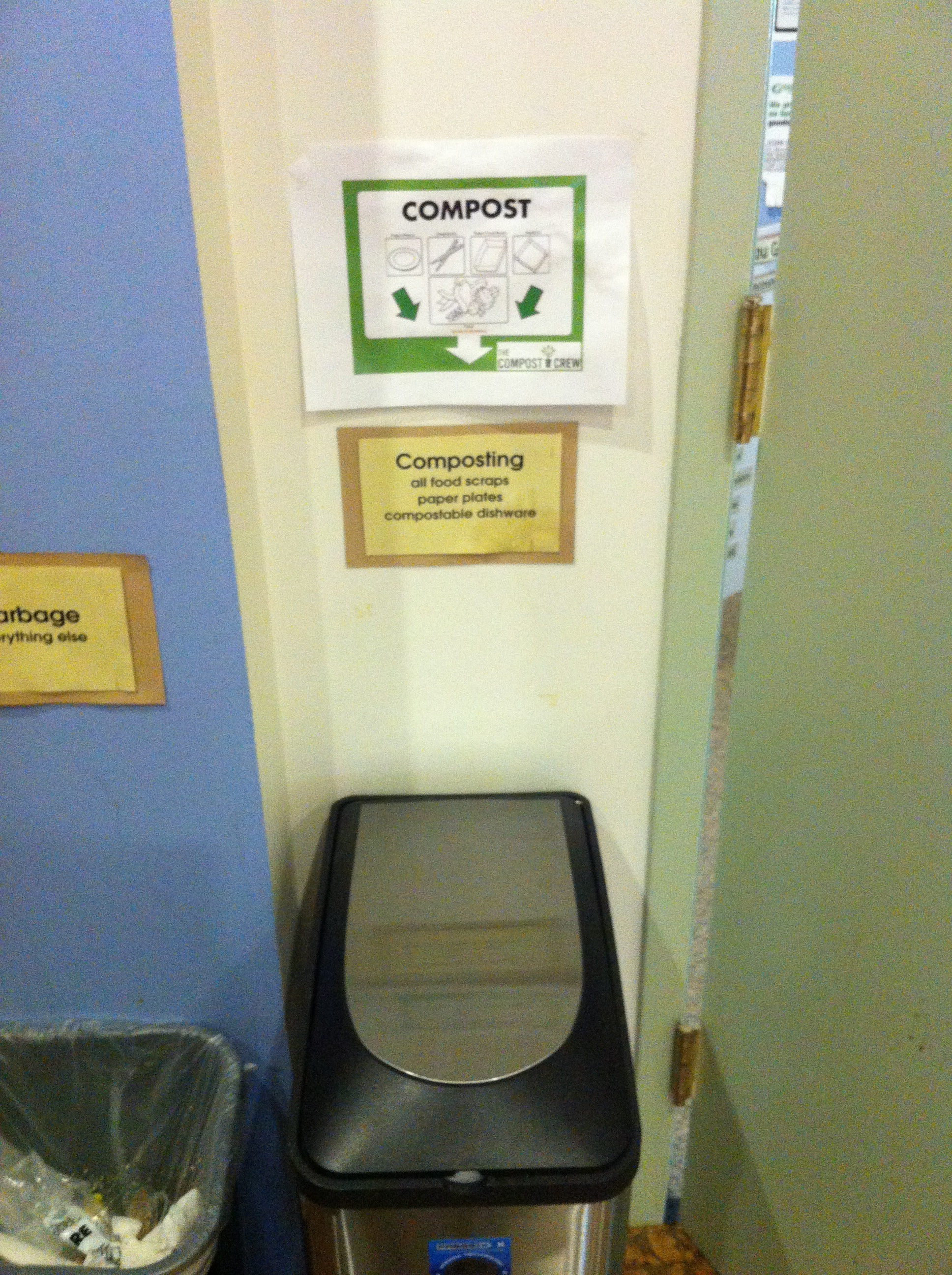office compost container