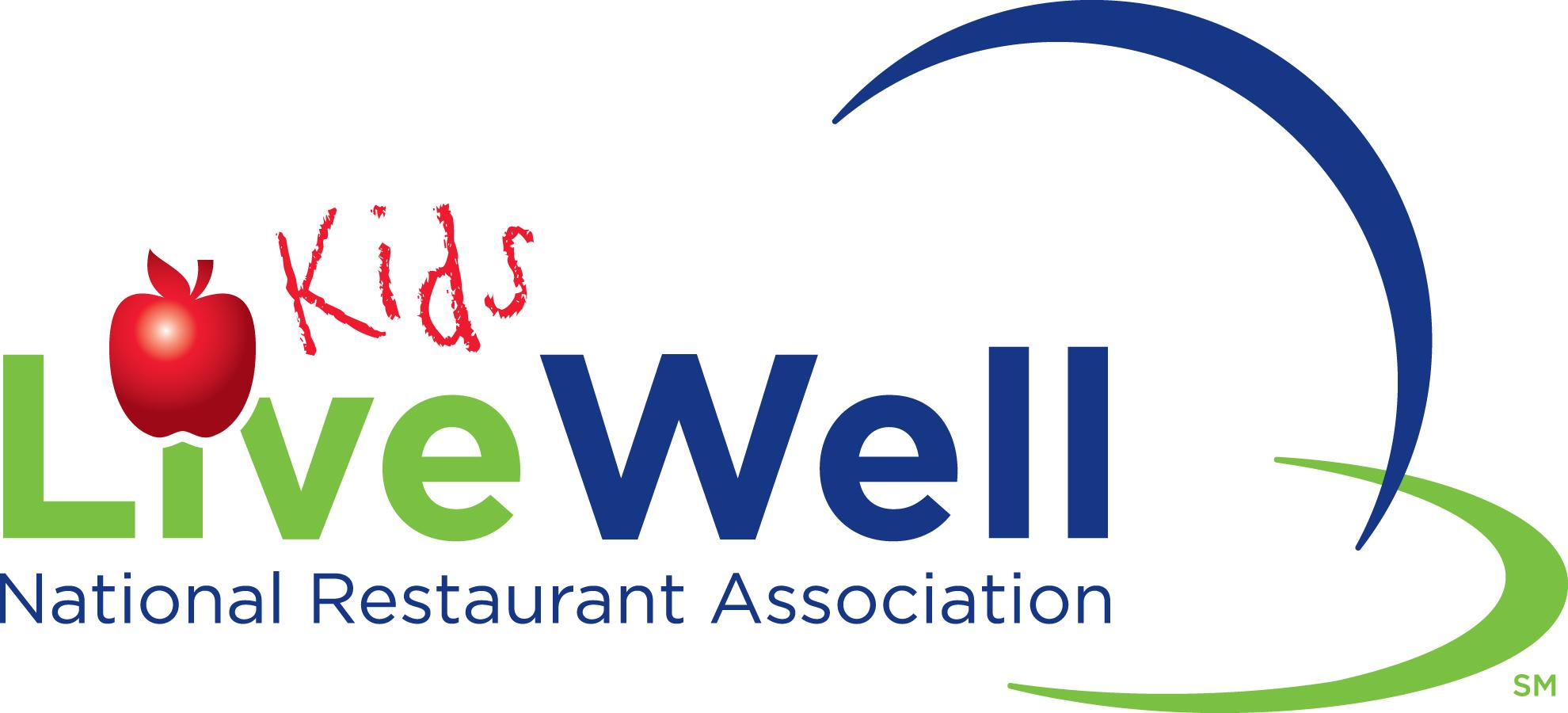 KidsLiveWell National Restaurant Association logo