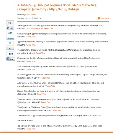 HubSpot First Twitter News Release resized 600