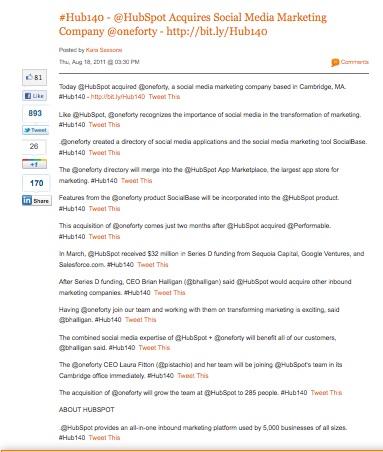 HubSpot First Twitter News Release resized 600